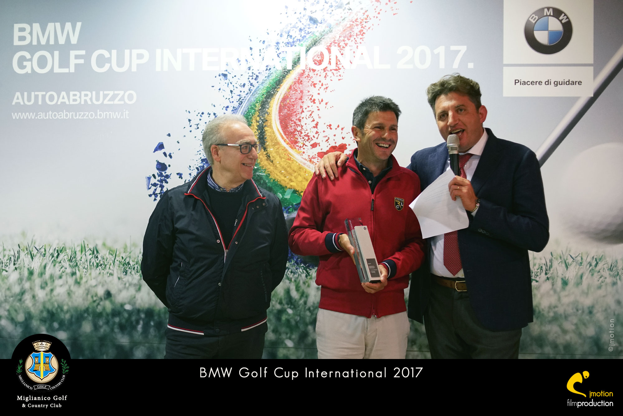 Miglianico Golf BMW GOLF CUP INTERNATIONAL 2017 vince Eugenio D'Eustacchio