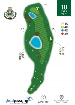 miglianico golf Buca n18