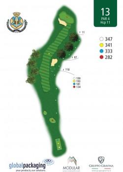 miglianico golf Buca n13