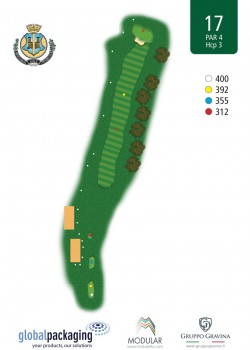 miglianico golf Buca n17