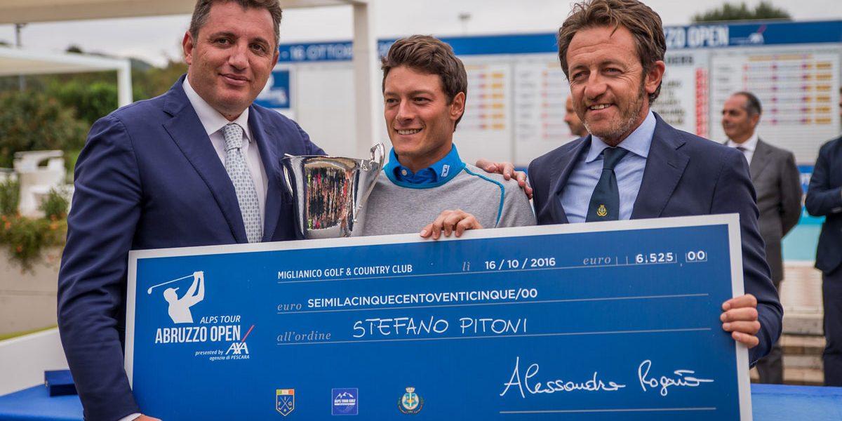 Miglianico Golf Abruzzo Open 2016 vince Stefano Pitoni