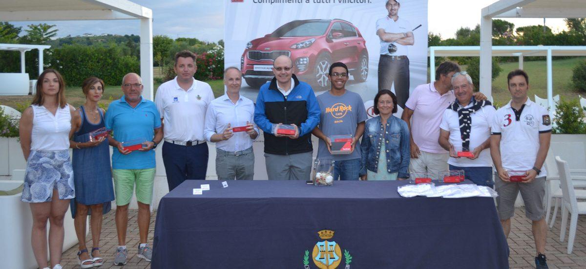 Premiati KIA Golf Cup 2017