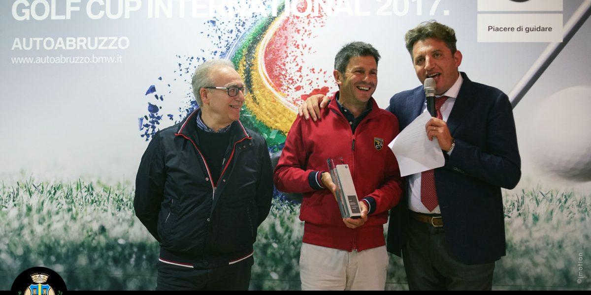 Miglianico Golf BMW GOLF CUP INTERNATIONAL 2017 vince Eugenio D'Eustacchio