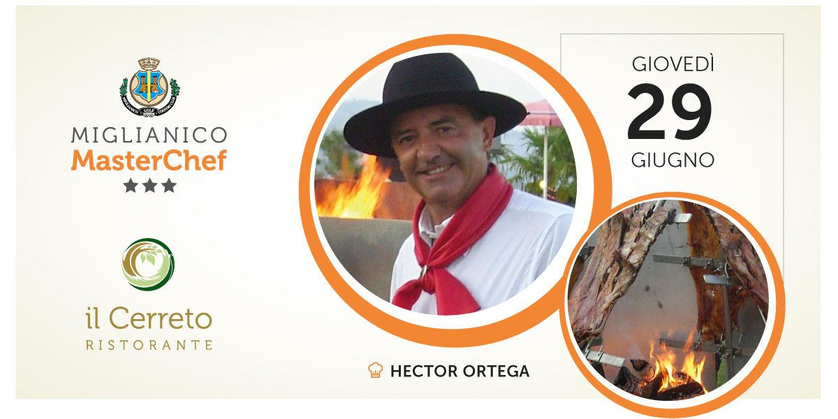 Miglianico Master Chef Hector Ortega