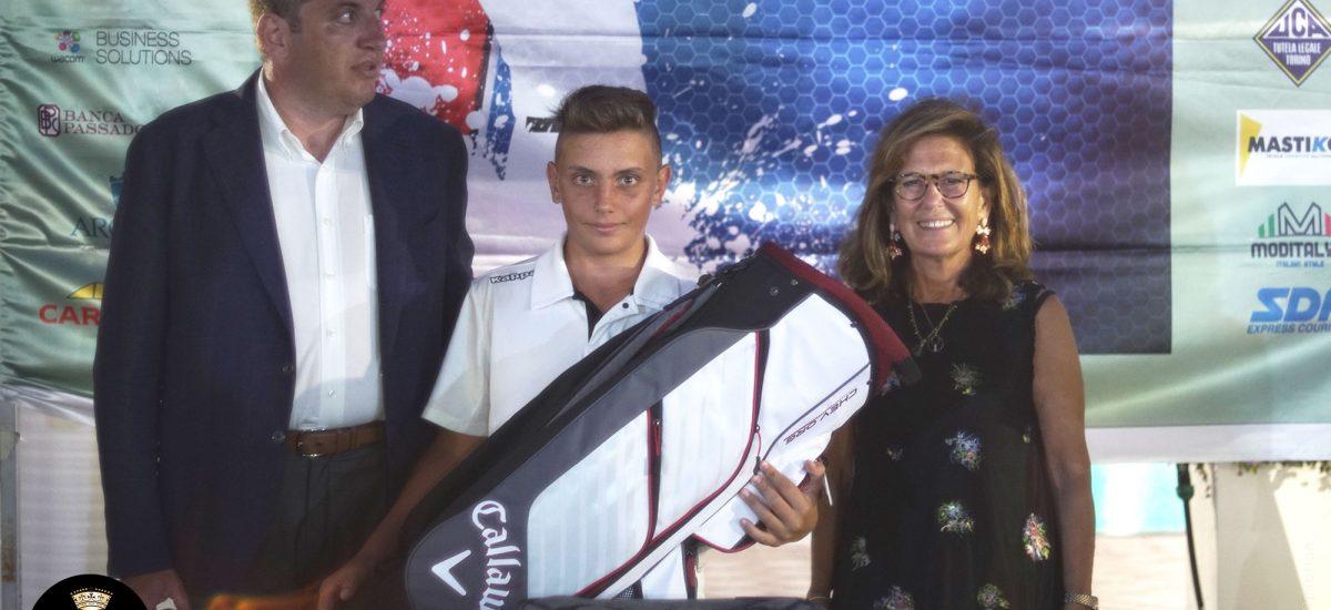 Miglianico Golf AXA Golf Cup 2017 vince MICHETTI FLAVIO