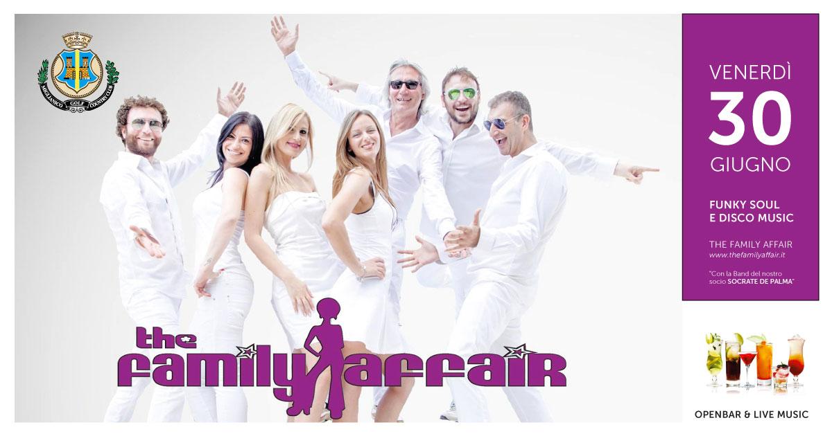 Ristorante Il Cerreto domenica 30 giugno 2017 Serata open bar con The Family Affair