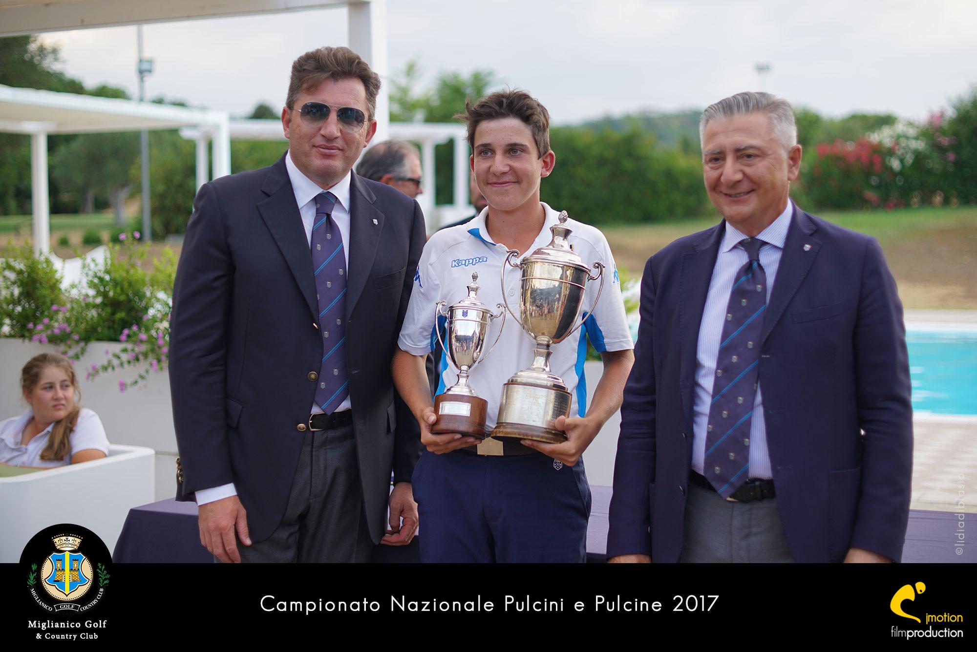 Miglianico Golf Campionato Nazionale Pulcini e Pulcine 2017