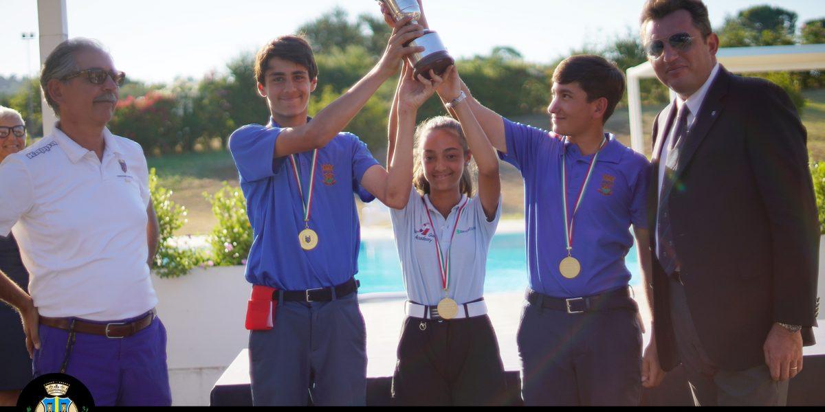 Miglianico Golf Campionato Nazionale under 14 a squadre